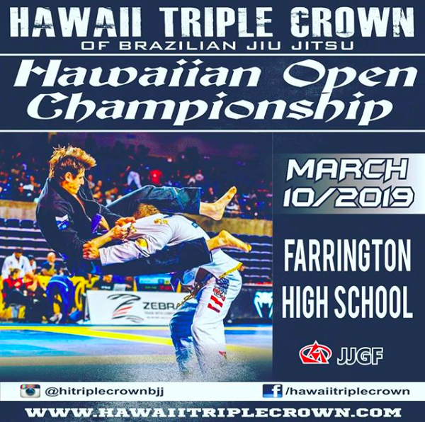 2019 BJJ Tournament | Hawaii Triple Crown | Farrington HS, Oahu - Hawaii  Jiu Jitsu Kimono Brand