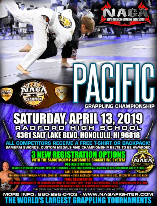 BJJ Tournament | NAGA 2019 Pacific Grappling Championship